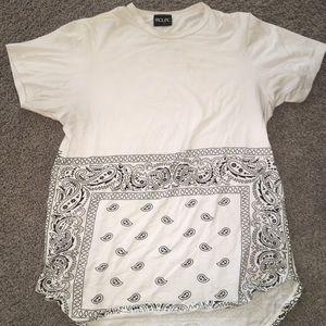 Other - White Bandana Tee Shirt